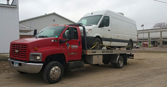 24 Hour Towing Brown County MN